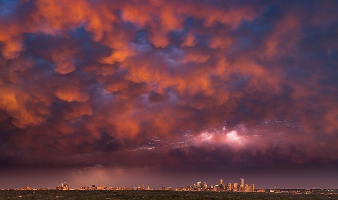Spring Storms Over Austin